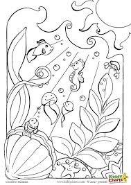 Full Size Of Coloring Pageocean Page Pages Holiday Nature Ocean Lovely
