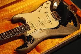 Fender John Mayer Signature Black One Relic Refinish