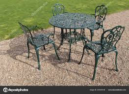 Metal Set Garden Table Four Chairs — Stock Photo © Daseaford ... Stunning White Metal Garden Table And Chairs Fniture Daisy Coffee Set Of 3 Isotop Outdoor Top Cement Comfort Design The 275 Round Alinum Set4 Black Rattan Foldable Leisure Chair Waterproof Cover Rectangular Shelter Cast Iron Table Chair 3d Model 26 Fbx 3ds Max Old Vintage Bistro Table2 Chairs W Armrests Outdoor Sjlland Dark Grey Frsnduvholmen China Patio Ding Dinner With Folding Camping Alinium Alloy Pnic Best Ideas Bathroom