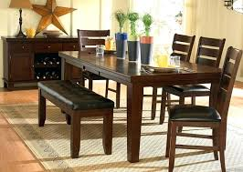 Dining Table And Bench Sets Rustic Elegant Room Luxury Kitchen