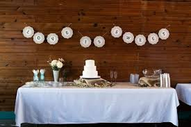 Country Wedding Cake Table Decorations Rustic Reception Details Weddingbee Photo Gallery