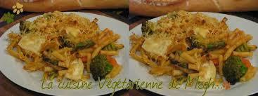 gratin de pâtes aux légumes la cuisine végétarienne de megh