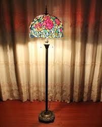Tiffany Style Glass Torchiere Floor Lamp by Tiffany Style Floor Lamps Image U2014 Bitdigest Design Popular