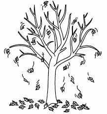 Bare Tree Coloring Page Clipart Panda Free Clipart Images With The