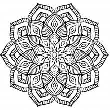 Mandala Complex Big Flower