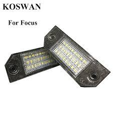 2pcs xenon white license plate led lights 24 3528 smd l
