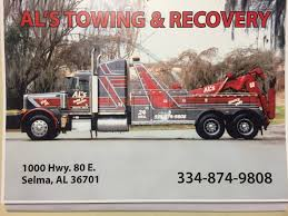 Al's Towing & Recovery 1000 Us Highway 80 E, Selma, AL 36701 - YP.com 24hr Kissimmee Towing Service Arm Recovery 34607721 West Way Company In Broward County 24 Hours Rarios Roadside Services Tow Truck American Trucking Llc 308 James Bohan Dr Vandalia Oh How You Can Use A Loophole State Law To Beat Towing Fee Santiago Flat Rate Wrecker Classic Stock Photos Trucks Orlando Monster Road