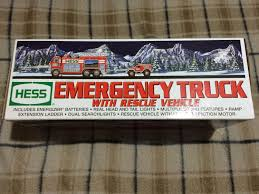 Best Hess 2005 Emergency Truck For Sale In Dollard-Des Ormeaux ... Hess Emergency Truck With Rescue Vehicle 2005 Best Hess For Sale In Dollarddes Ormeaux With N128 Ebay Any More Trucks Resource 31997 2000 2009 2010 Lot Of 8 Mint 19982017 Complete Et Collection Miniatures Trucks 20 Used Peterbilt 379 Tandem Axle Sleeper For Sale In Pa 25466 Emergency Fire New 1250 Toy Trucker Store Online Sale 1996 Ladder Brand New Never Having Texaco Wings Mini