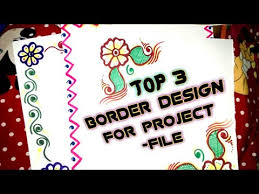 Top 3 Best Way To Decorate Your Project File Pages