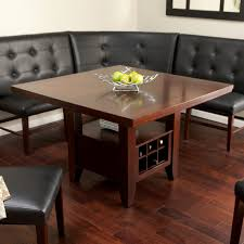 Dining Room Tables With Benches Fresh Table Bench Back Mom Notes Site