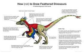 How Not To Draw Feathered Dinosaurs By Osmatar