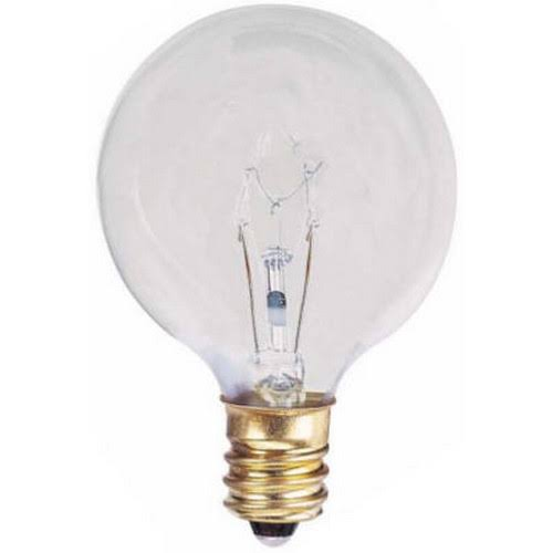 Globe Electric 70824 Globe Light Bulb - 40W, x2
