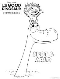 Printables The Good Dinosaur Activity Sheets Part 2