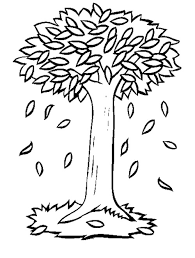 Trees Without Leaves Tree Coloring Pages