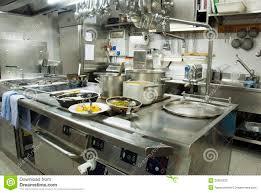 cuisine de restaurant restaurant kitchen stock photo image of kitchen cookware 20665232