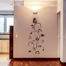 wandtattoo wandbanner medina 150cm blumen ranke wohnzimmer