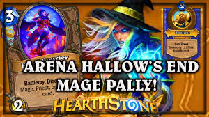 arena hallow s end mage paladin knights of the frozen throne