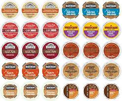 Coffee Variety Pack For Keurig K Cup Brewers Fall Flavors Of 20 Amazon Grocery Gourmet Food