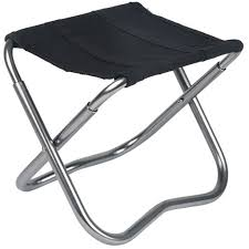 Alps Mountaineering Escape Camp Chair by Lifelj Aluminum Portable Carry Folding Travel Fishing Stools With