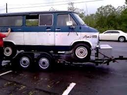 1976 Chevrolet 1 Ton Van Going To The Junk Yard Pt1 RIP