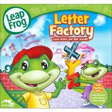 Leapfrog Letter factory DVD Tar