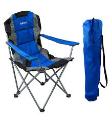 GigaTent Blue Folding Camping Chair – Ultra Lightweight Collapsible Quad  Padded Lawn Seat With Full Back, Arm Rests, Cup Holder And Shoulder Strap  ... Coreequipment Folding Camping Chair Reviews Wayfair Ihambing Ang Pinakabagong Wfgo Ultralight Foldable Camp Outwell Angela Black 2 X Blue Folding Camping Chair Lweight Portable Festival Fishing Outdoor Red White And Blue Steel Texas Flag Bag Camo Version Alps Mountaeering Oversized 91846 Quik Gray Heavy Duty Patio Armchair Outlander By Pnic Time Ozark Trail Basic Mesh With Cup Holder Zanlure 600d Oxford Ultralight Portable Outdoor Fishing Bbq Seat Revolution Sienna