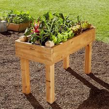 Fabulous Wooden Raised Garden Bed Kits Natural Cedar Raised Garden