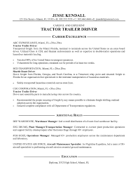 100 Truck Jobs No Experience Class A Driver Resume Simple Templates