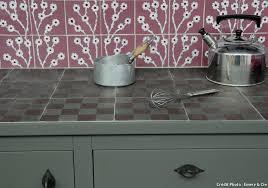 carrelage cuisine plan de travail plan de travail pour cuisine matériaux cuisine maison créative