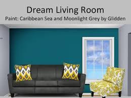 grey sofa yellow walls illuminazioneled net