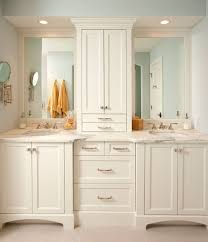 Small Double Sink Vanity by Catchy Double Vanity With Center Tower And Double Sink Vanity W