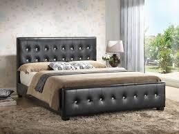 Black Leather Headboard Queen by Bedroom Elegant Black Leather Upholstered Headboards Queen Bed