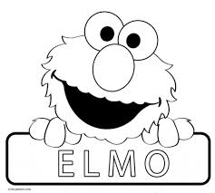 Printable Elmo Coloring Pages For Kids Cool2bkids In Free