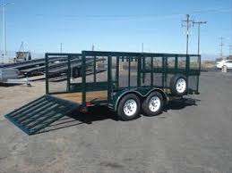 Used Landscape Trailers Big Tex 70LR 16 Landscaping Horse 1