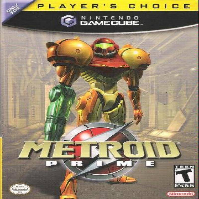 Metroid Prime - Nintendo Game, European Version
