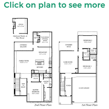 Ryland Homes Floor Plans Houston by Manhattan Plan Chesmar Homes Houston