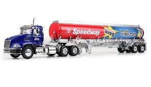 Amazon.com: 2016 Speedway Toy Truck 1:64 Diecast MACK Pinnacle Day ...
