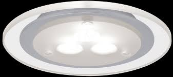 Deco Furn Recessed Light LED 3x3W Satin Chrome PAULMANN 93543