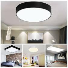 details zu led deckenle dimmbar deckenleuchte wohnzimmer le acryl mit fernbedienung