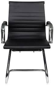 techni mobili chair assembly mobili modern visitor office chair with chrome frame black rta