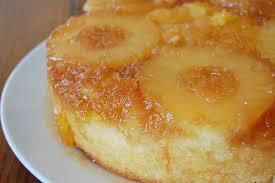 Sunshine Cake Pineapple Ginger Upside Down Cake