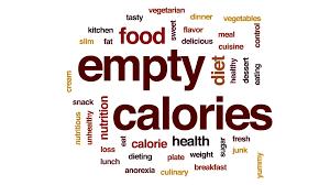 animation cuisine empty calories word cloud text design animation motion