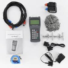100 Meter To M2 TDS100H Ultrasonic Flow Meter Clamp On Sensor
