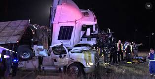 One Truck Runs Over Another In Crash That Leaves One Dead, Two Hurt ... San Antonio 18 Wheeler Accident Wreck Attorney Lawyer Mesilla Valley Transportation Cdl Truck Driving Jobs Tx Gulf Intermodal Services Steve Hilker Trucking Inc Home Facebook Conway Southern Freight Ukrana Deren Budget Rental 430 Sandau Rd Truck Deaths Driver Could Face Death Penalty After 10 Company Associated With Migrant Smuggling Case Has History Indian River Transport Redbird Alamo Transportation Services Co Inc
