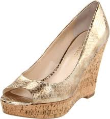 gold ivory wedges for outdoor wedding weddingbee