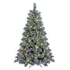 Slim Pre Lit Christmas Trees 7ft by Kaemingk Everlands Snowy Alaskan Pre Lit Christmas Tree E2 80 93