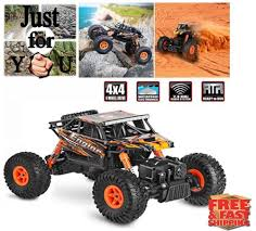 Christmas Gift For Kid Boy RC Car 4X4 4WD Electric Remote Control ... Traxxas 110 Slash 2 Wheel Drive Readytorun Model Rc Stadium Truck Amazoncom Jc Toys Huge 4x4 Remote Control Monster Games 116 Scaled Down Car 24g 4ch 4wd Rock Crawler Driving Tozo C5031 Car Desert Buggy Warhammer High Speed New Maisto Off 118 Volcano18 How To Get Into Hobby Upgrading Your And Batteries Tested Big Black Nitro 60mph Original 24ghz Crawlers Rally Climbing 4x4 Vxl Brushless Rtr Short Course Fox By Adventures River Rescue Attempt Chevy Beast Radio