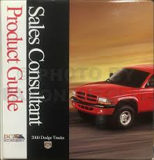 2000 Dodge Truck Sales Guide Dealer Album Ram 1500-3500 Pickup ...