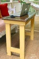 laptop table woodworking plans and information at woodworkersworkshop