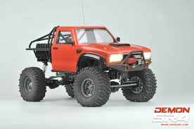 100 Rc Truck Kit SR4B Demon 44 W Lexan Body W Metal Frame And Some Metal Upgrades 1
